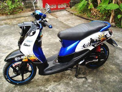 Modifikasi Motor Yamaha Mio Fino Sederhana