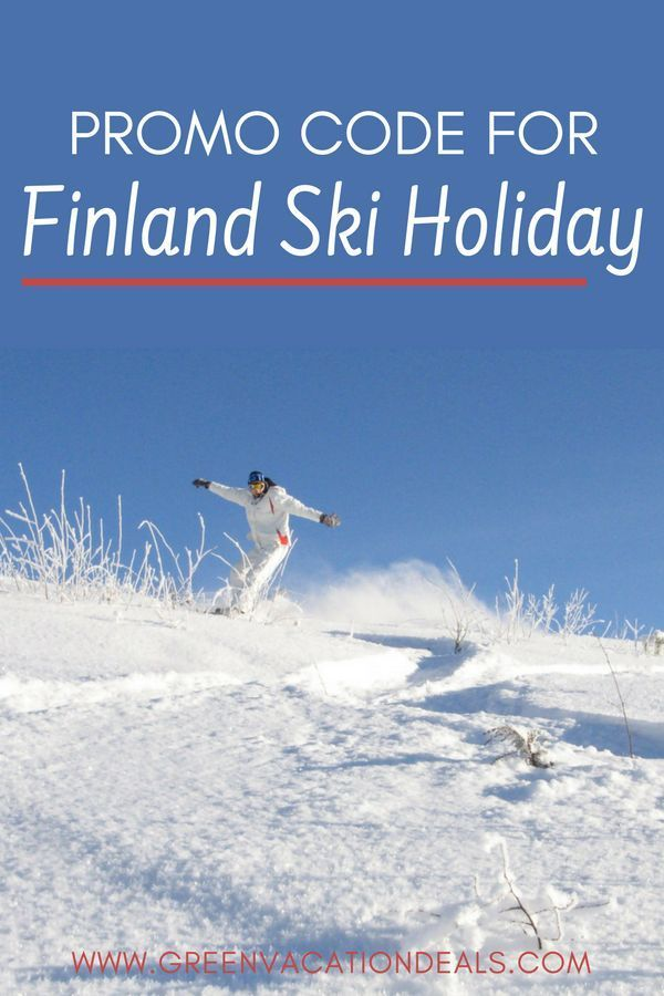 Promo Code For Finland Ski Holiday