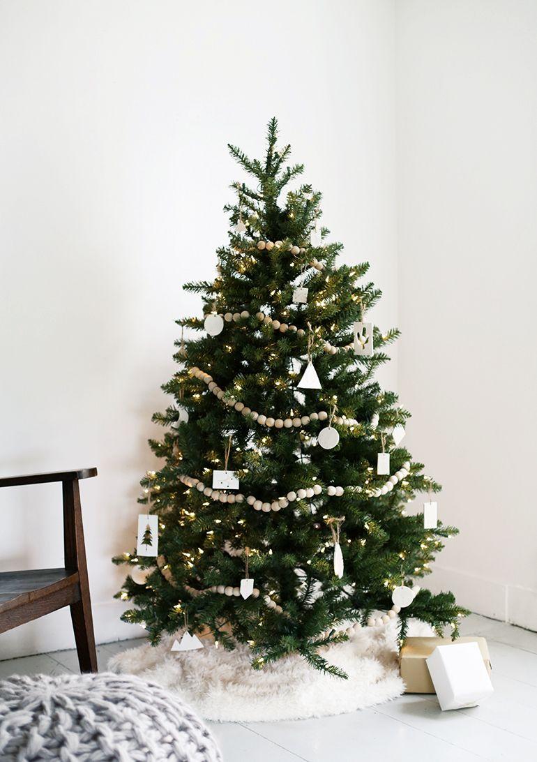 Minimal Christmas Tree Scandinavian Christmas Trees Modern Christmas Tree Minimalist Christmas Tree