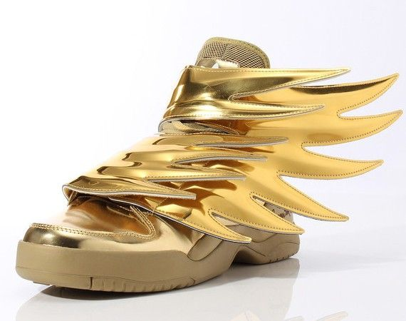 Jeremy Scott / Wings 3.0 Gold Adidas