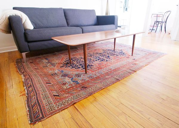Oriental Rug The More Threadbare Better