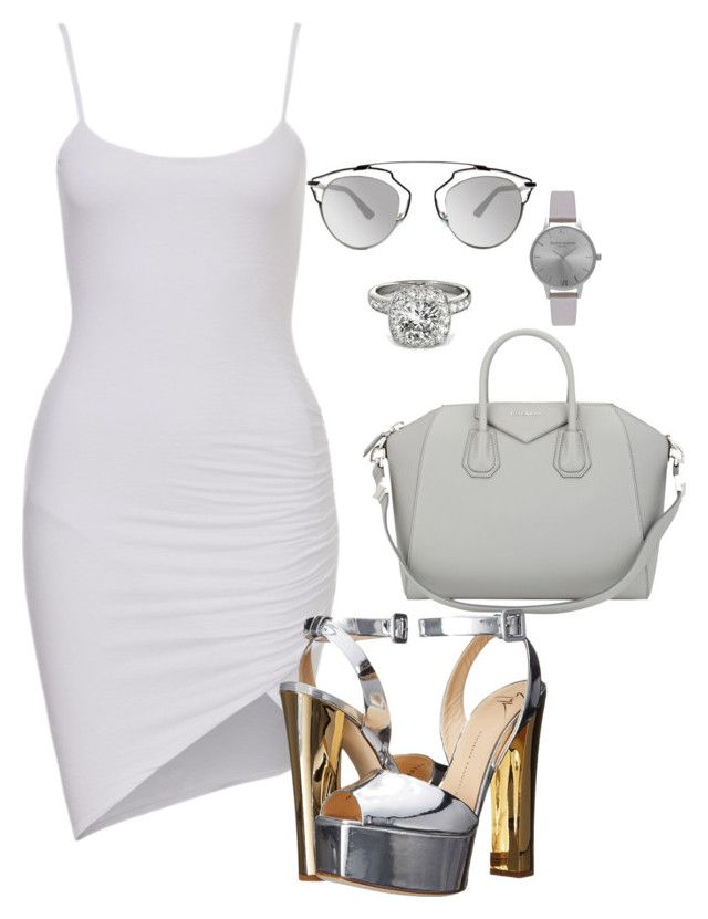 """""""Untitled #19"""" by missduvall on Polyvore featuring Allurez, Givenchy, Christian Dior, Olivia Burton and Giuseppe Zanotti"""