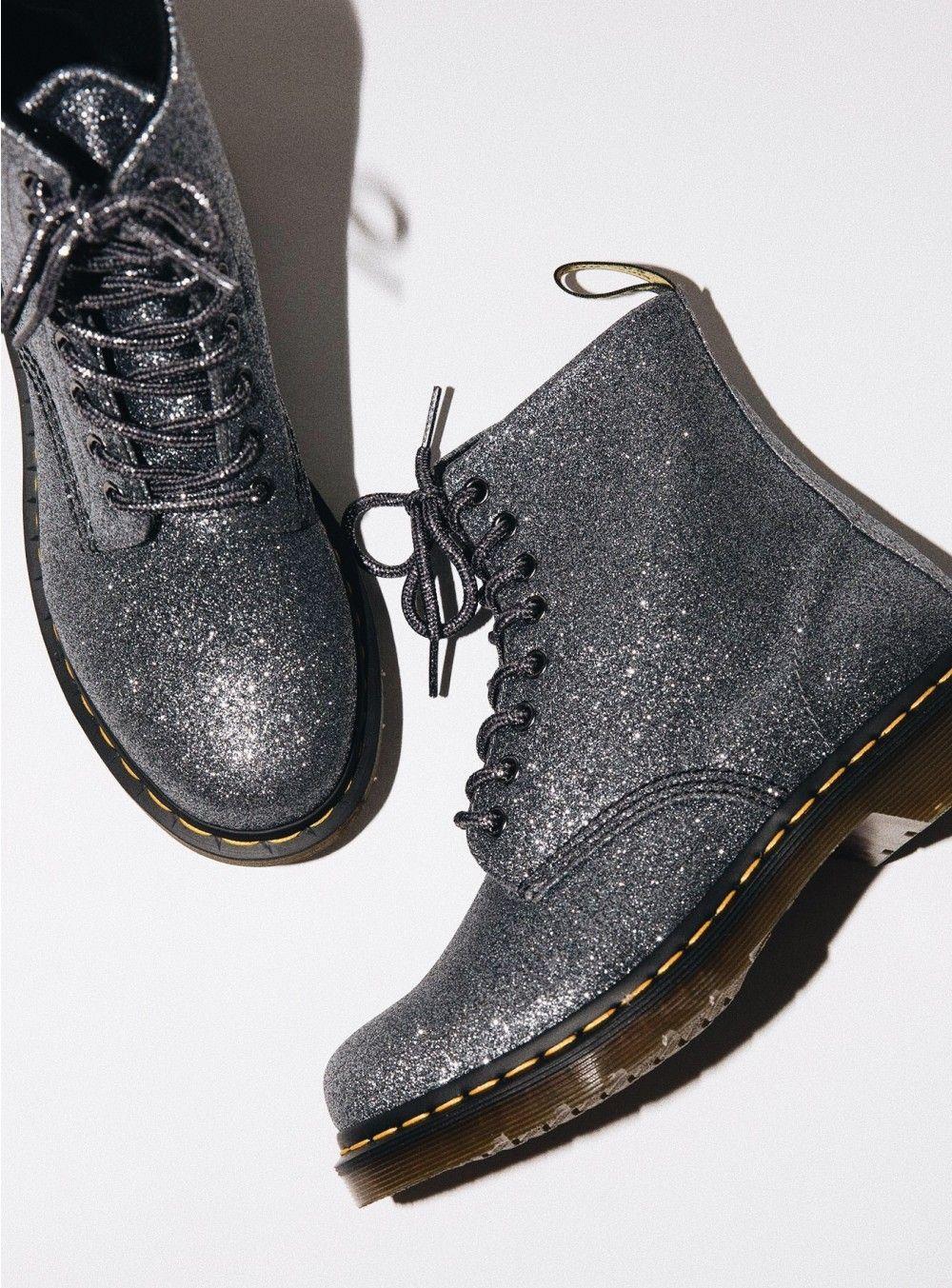 Chaussures de mode Dr. Martens 1460 Pascal Glitter Bottines