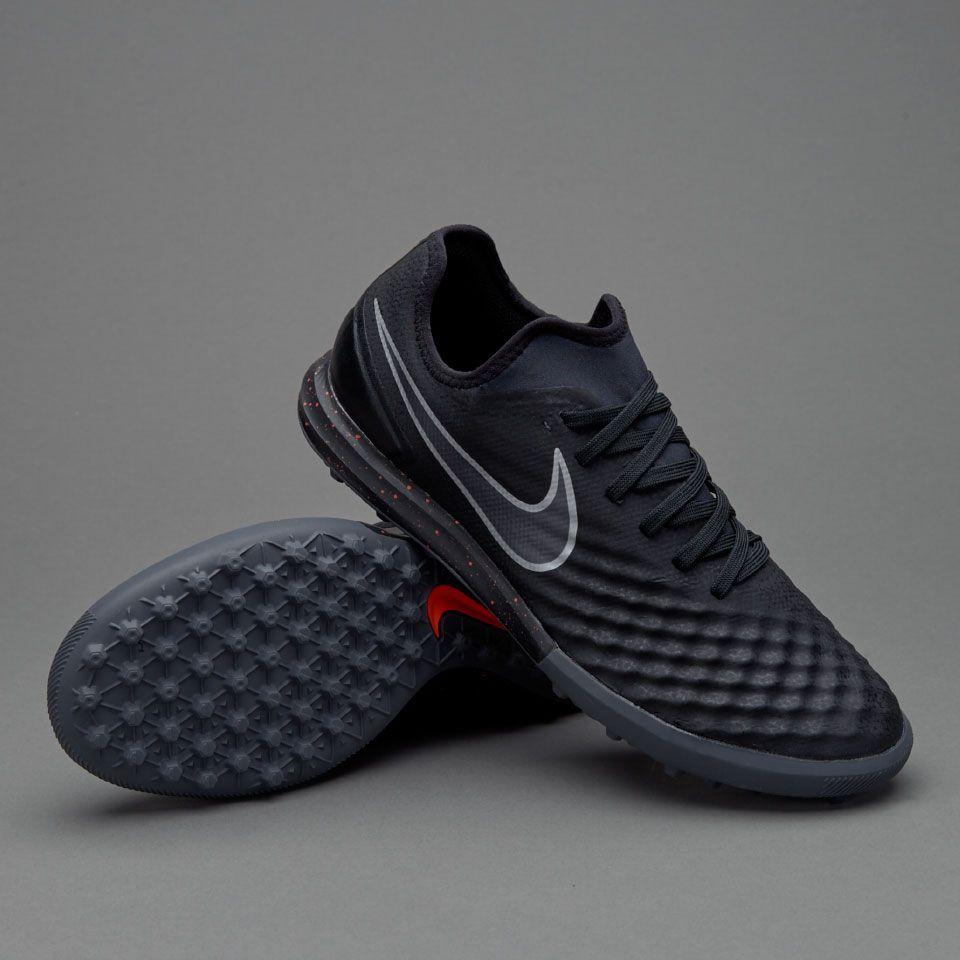 Nike MagistaX Finale II TF - Black/Total Crimson/Gum Light Brown