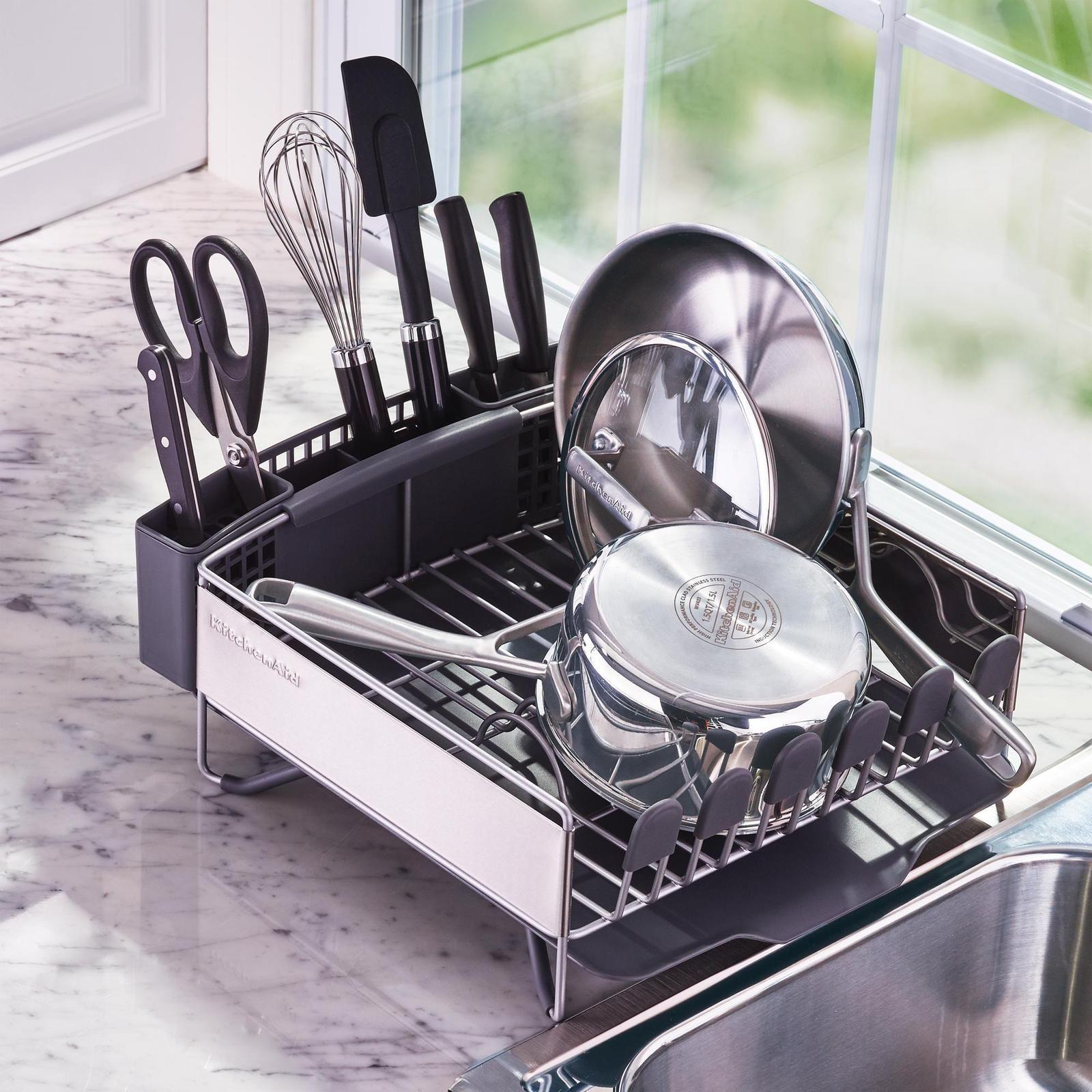 Compact dish rack by kitchenaid wedding planning