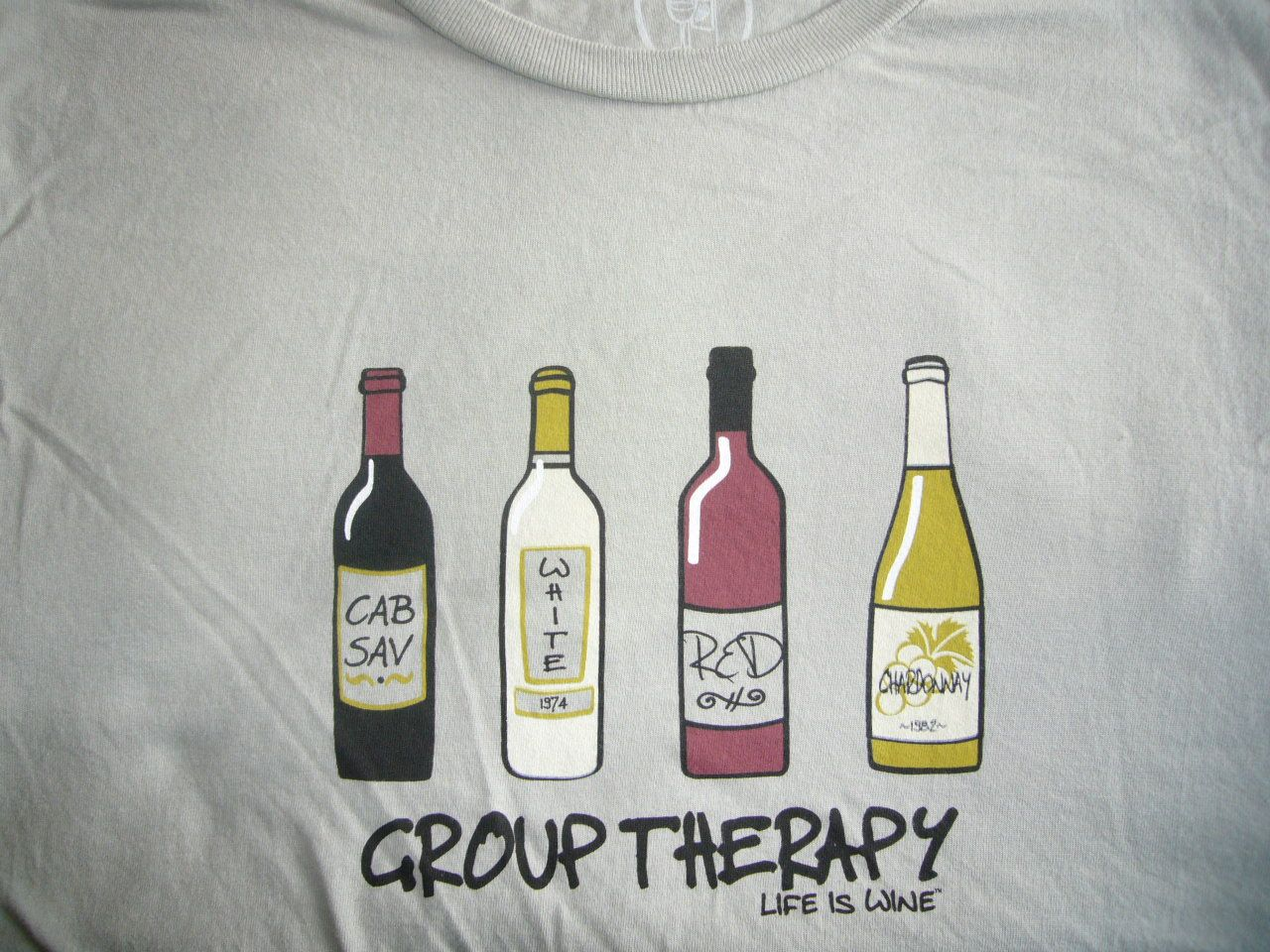 life is wine group therapy l funny t shirts pinterest. Black Bedroom Furniture Sets. Home Design Ideas