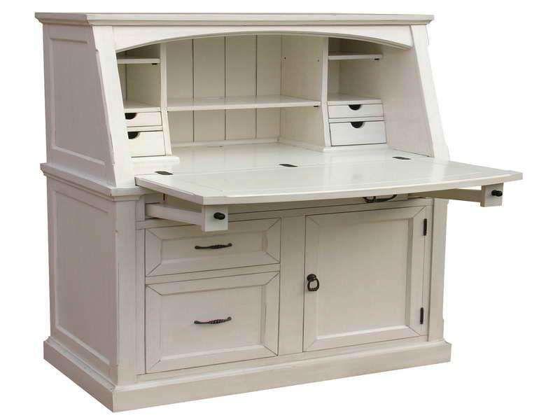 Small Secretary Desk With Hutch Large Lap Desk