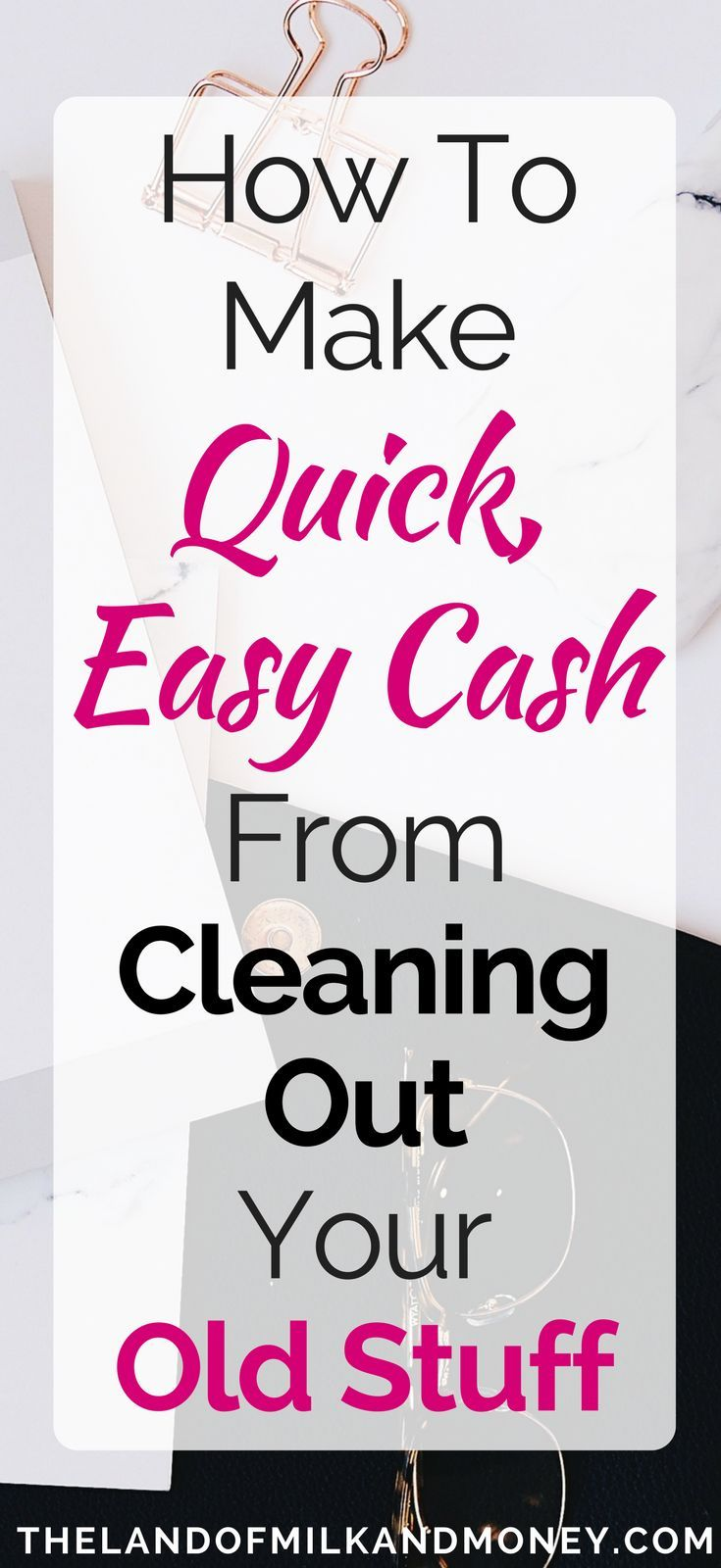 How to Make Great Money Cleaning Out Your Old Stuff   Pinterest ...