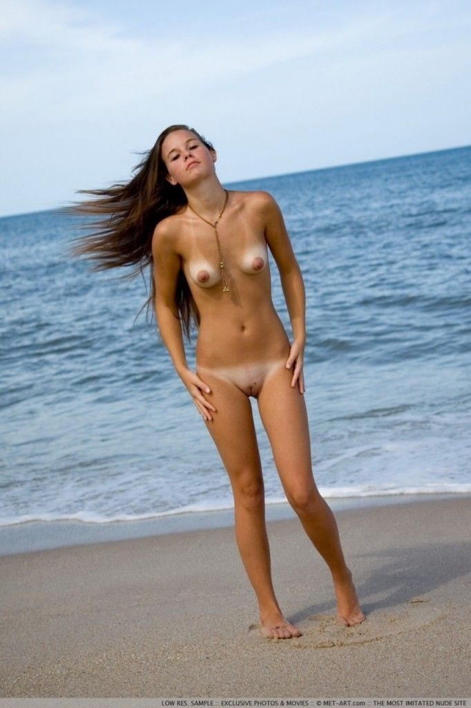 Most popular nudist beach
