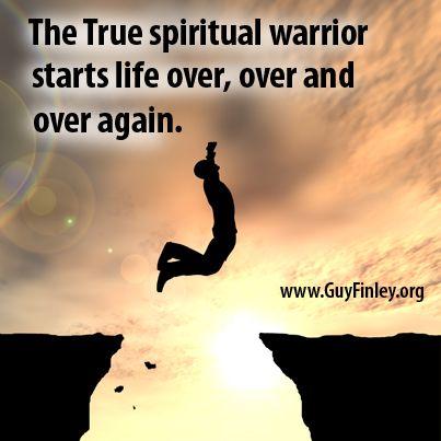The True spiritual warrior guyfinley.| Quotes by Guy Finley