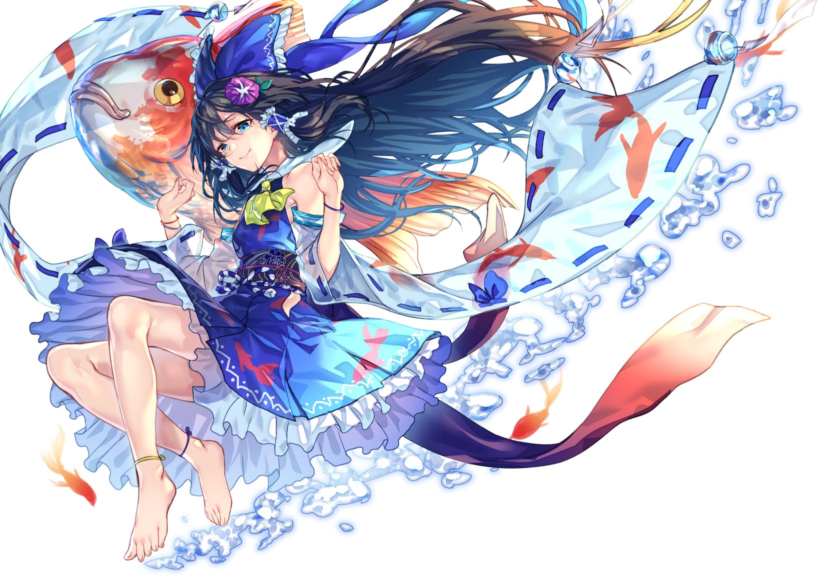Summer is fully open [i 64616702] pixiv 芸術的アニメ少女, 霊夢
