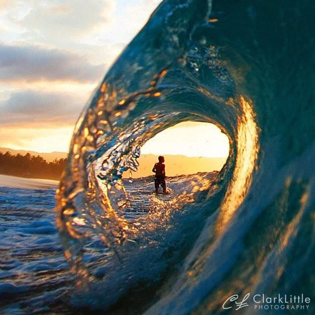 Clark Little Photography - Hawaii - taken at sunset