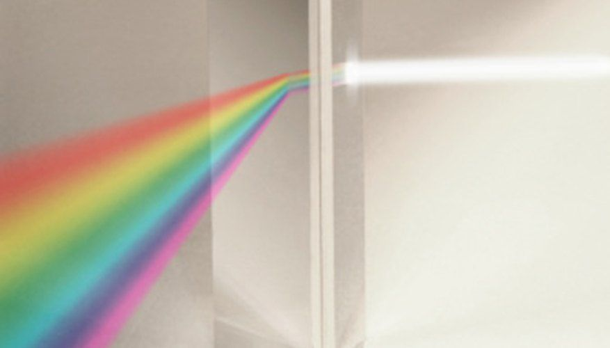 Light refraction is the bending of light, or the change in direction of the rays as it moves past a boundary. For example, when light crosses through a window, it is refracted and can create a rainbow. A prism illustrates this theory. As light passes through the prism, it refracts and separates into an entire ...
