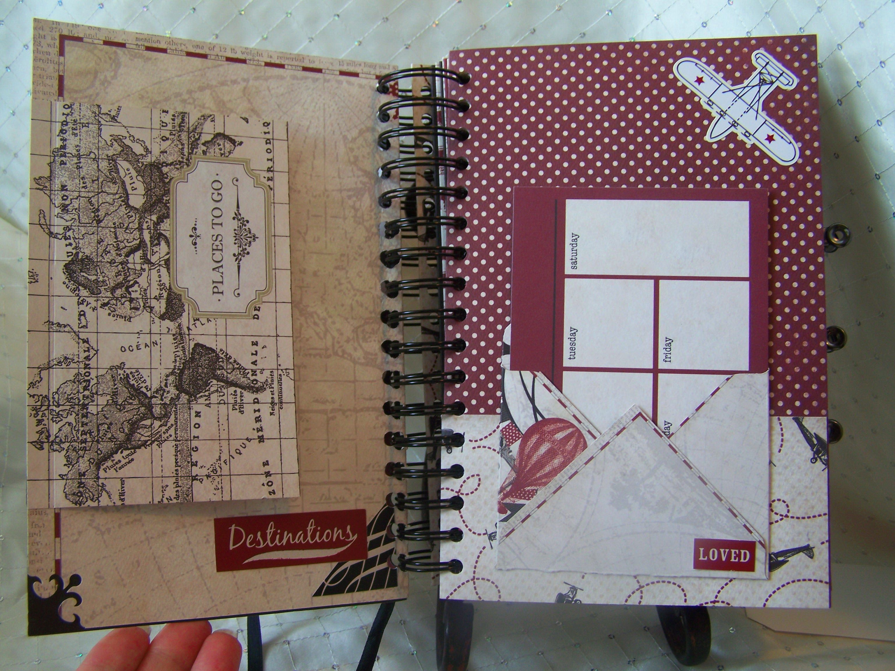 "Carta Bella ""Well Traveled"" Vintage Travel Journal - Scrapbook.com"