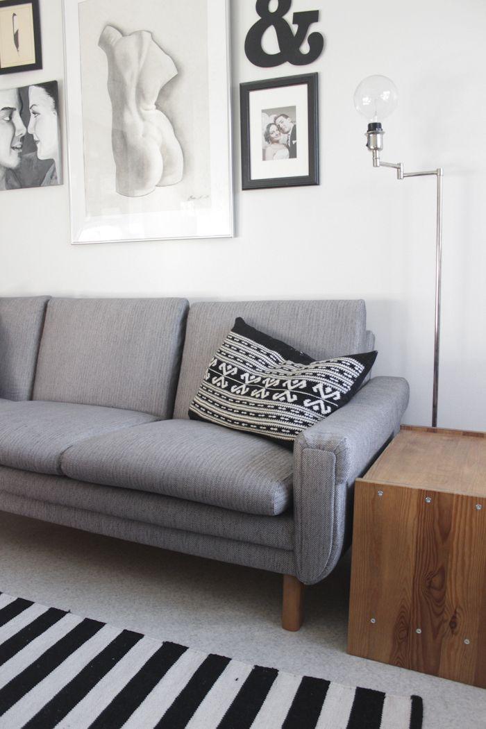 Reupholstering a retro sofa  - schöne Farbe und Textur