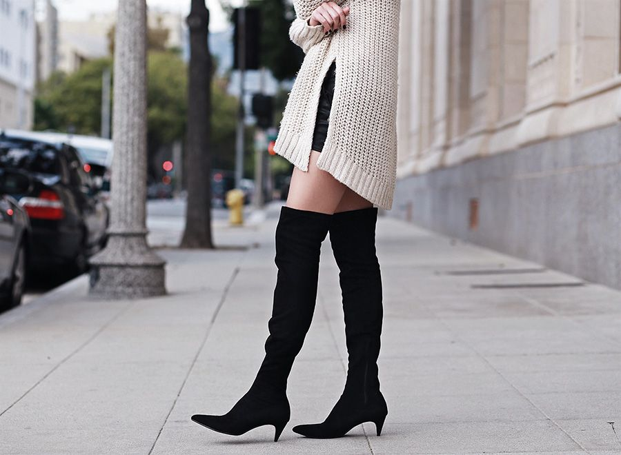 Pointed Toe and Kitten Heel | Kitten heel boots, Kitten heels and ...