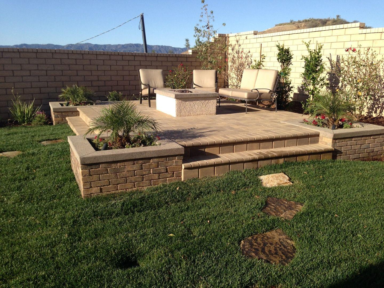 backyard home and garden inspiration by scv landscaping santa