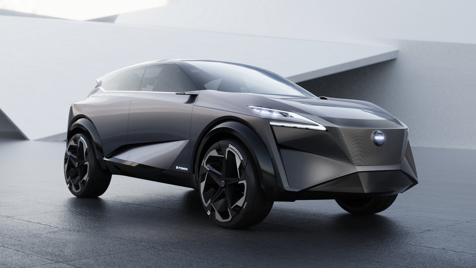 Nissan Imq Concept Gives Us A Glimpse Of Its Future Crossovers Hybrid Car Nissan Geneva Motor Show