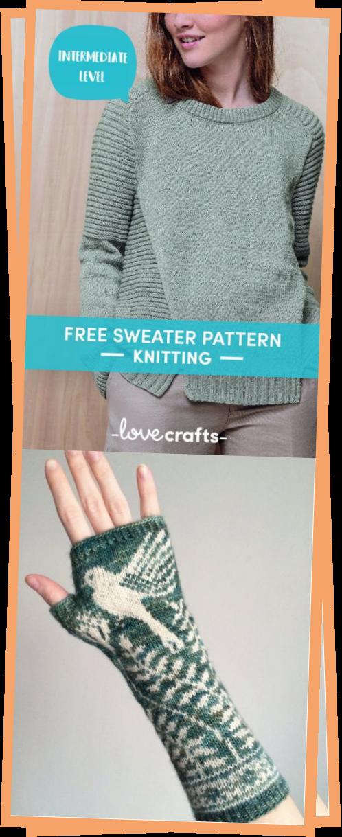 Photo of Free Sweater Knitting Pattern
