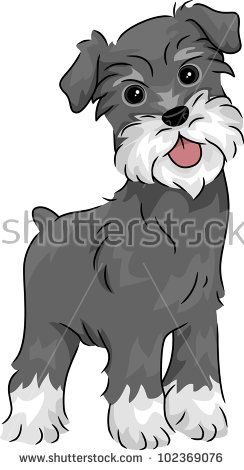 Image Result For Cartoon Schnauzer Standing Schnauzer Art Dog Drawing Dog Art