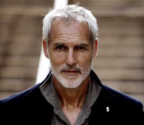 Gray Hair Color for Men | Potential Characters | Pinterest | Gray ...