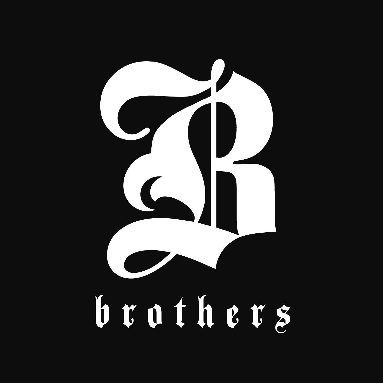 Brothers Logo Brother Tattoos Typography Logo Logo Design