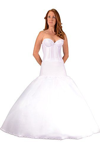 Bridal Petticoat Crinoline Slip For Fit To Flare Wedding Dress Ball Gown  Made In USA Proper Pictures