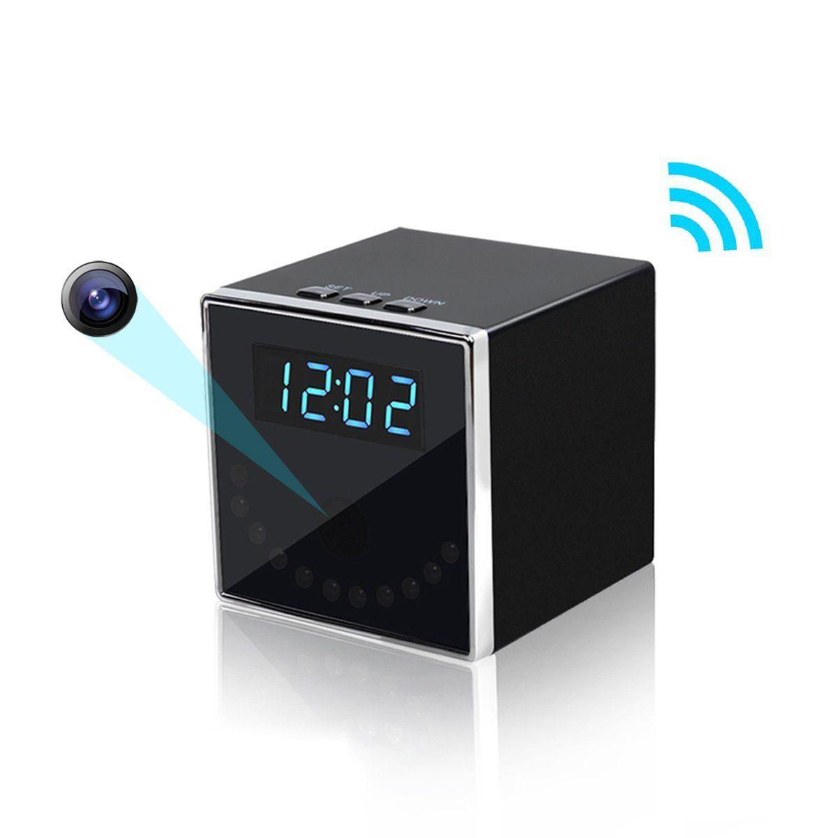 Nanny Cam Alarm Clock