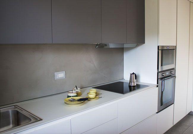 Cucina_lineare_650px | Domus mea | Pinterest | Cucina, Cucine e ...
