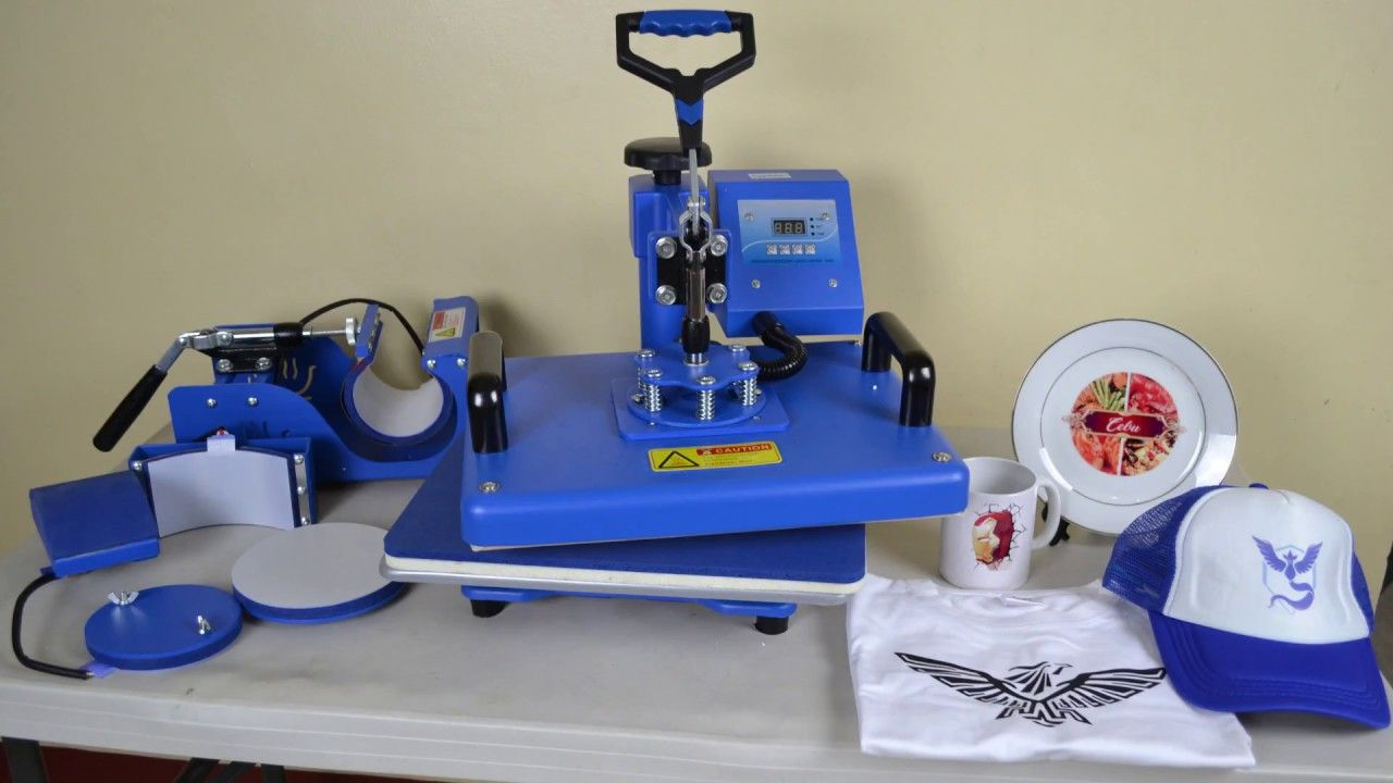 6 In 1 Multifunction Heat Press Machine