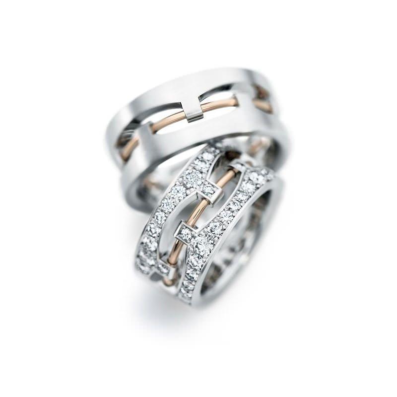 067b3372315 As alianças não convencionais estão ganhando cada vez mais espaço no mundo  das joias e conquistando corações de casais que gostam de fugir do  tradicional.