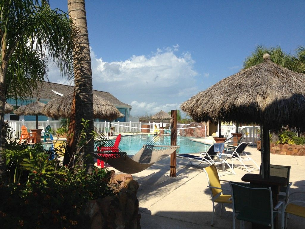 mustang island rentals with private pool
