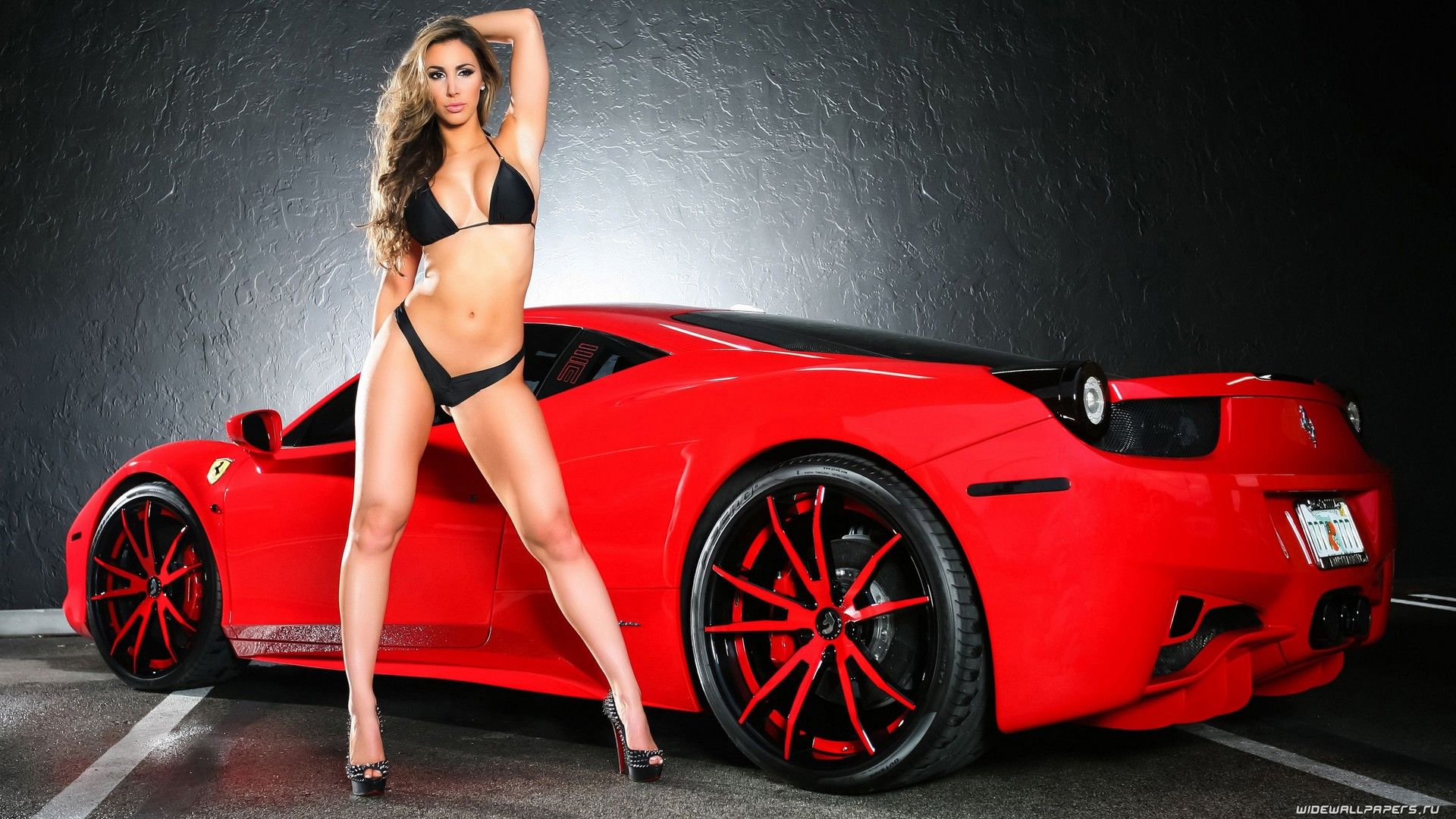 Pron Girl Wallpaper Beautiful hd girl and ferrari wallpaper | girl and ferrari wallpapers hd