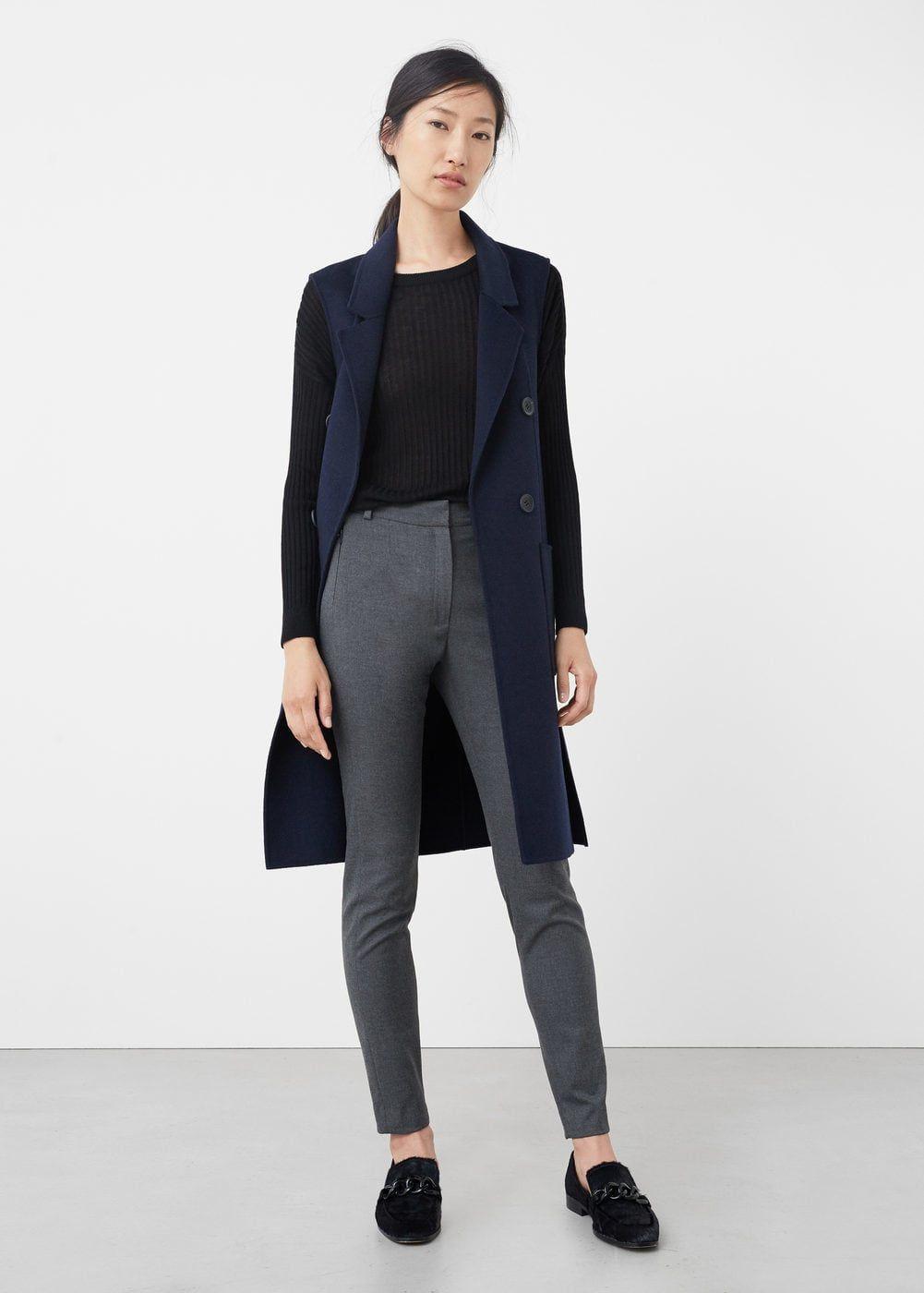 realmente cómodo mejor calidad asombrosa Pantalón pitillo traje - Mujer | moda en 2019 | Trajes de ...
