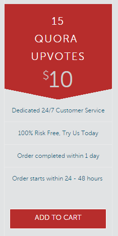Get 15 Upvotes On Any Quora Answer For 10 100 Risk Free Order