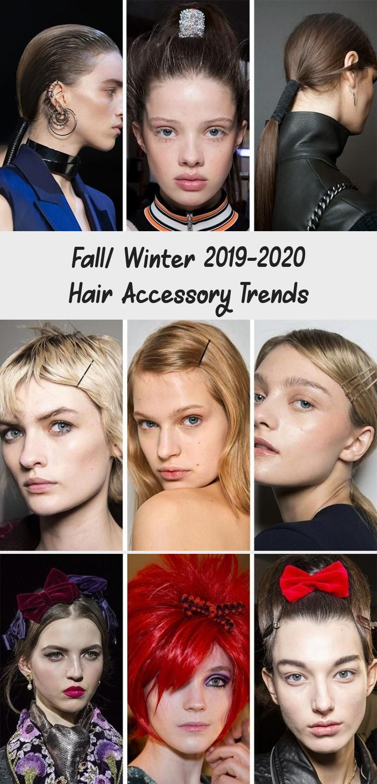 Herbst / Winter 2019-2020 Haarschmucktrends Beste Frisuren 2020 Haartrends a …