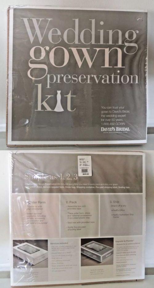 Storage Bags and Preservation 175631: Wedding Gown Preservation Kit ...