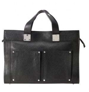 filippa k leather briefcase