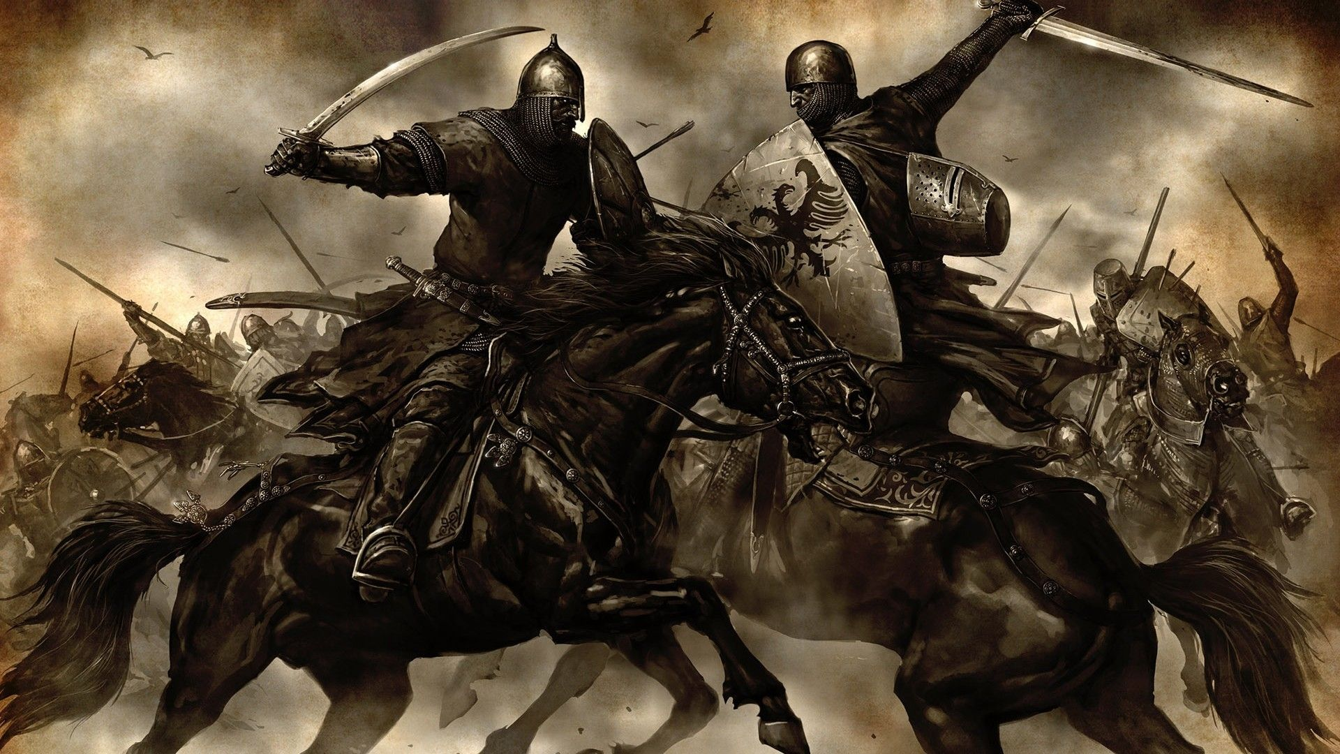 Andalusian Knights Are Big Men Most Of Them Having Once Served As