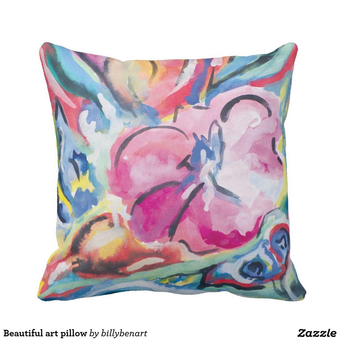 Beautiful art pillow pillows