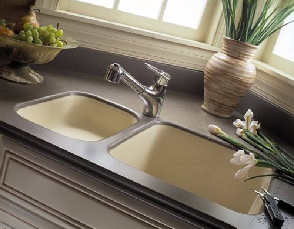 Corian Sink And Counter Is All In One No Seams No Caulking To