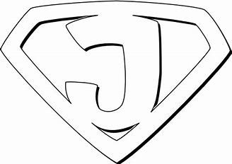 Image result for Coloring Pages Superhero Logos