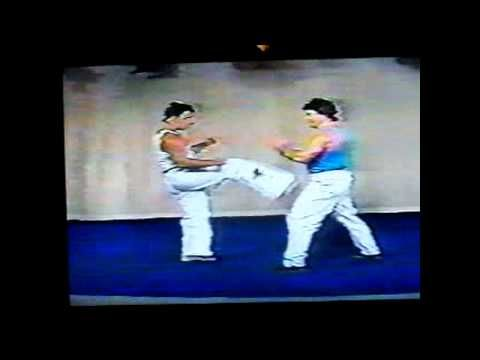 BASIC HOME karate training to get fit and learn to fight LENGYEL brothers - YouTube