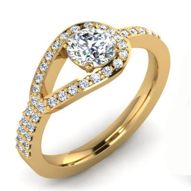 Five Gold Rings Wedding Ring By Goldfinger
