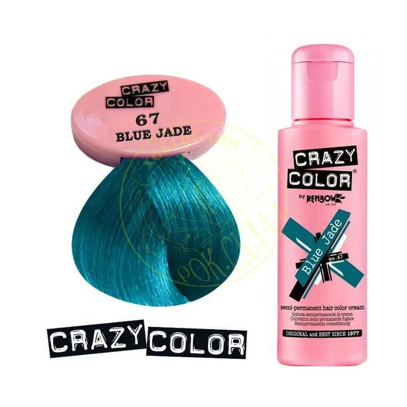 Crazy Color Pusiau Ilgalaikiai Dazai 100ml Crazy Color Crc002278