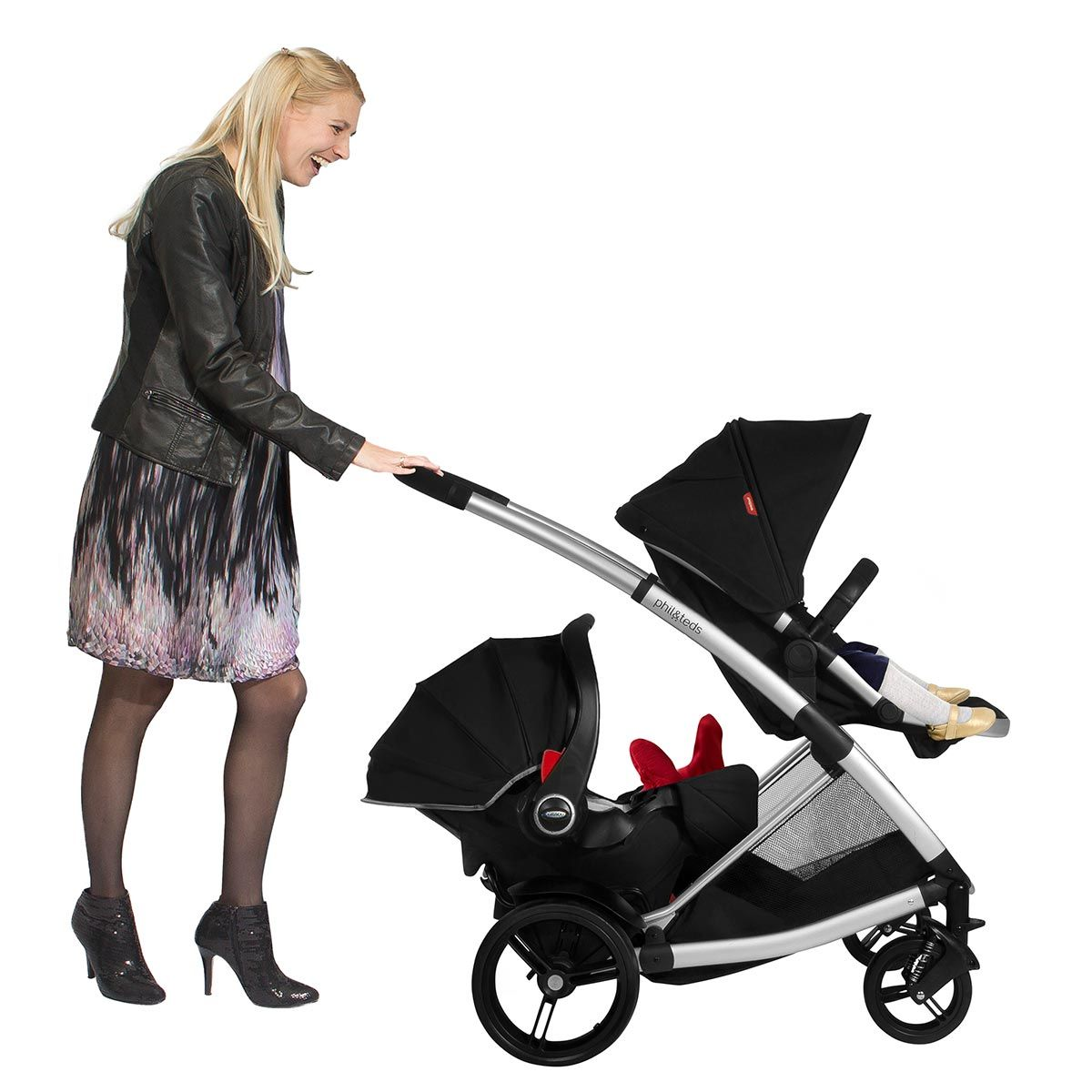Phil & Teds Promenade with car seat http://www.buggybaby.co.uk ...