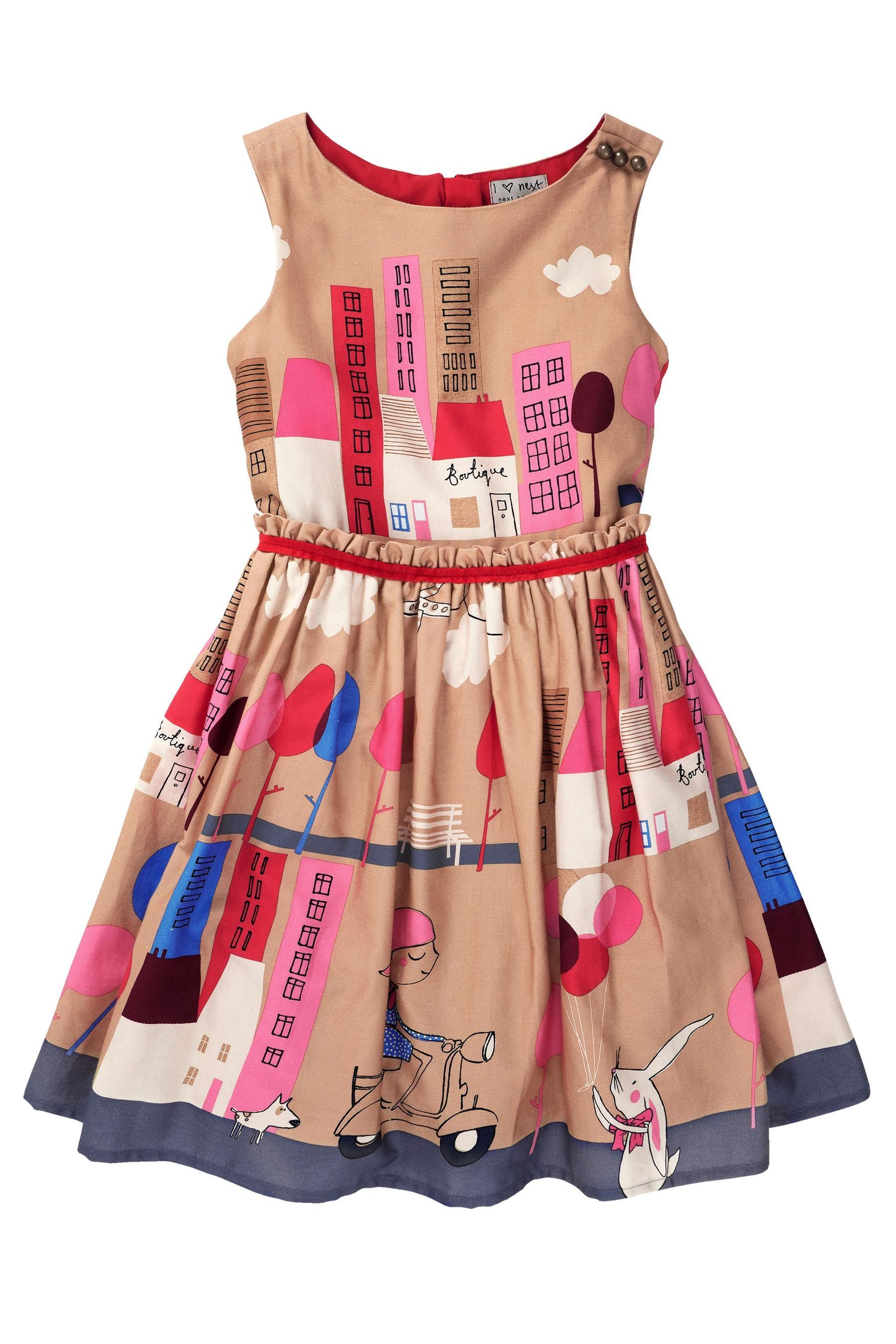Buy Tan Bunny Scene Prom Dress (3-10yrs) from the Next UK online ...