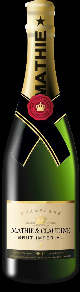 Mathie Claudine Bottle Champaign Bottle Champagne Bottle