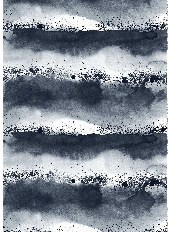 Luovi linen fabric by Marimekko | Gordijnen | Pinterest | Marimekko ...