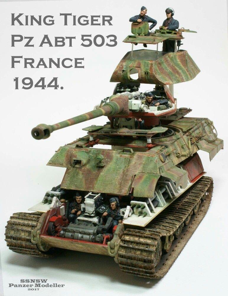 Takom 1 35 King Tiger By Kreangkrai Paojinda Scale Modeling